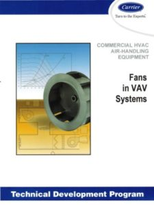 Carrier TDP 613 HVAC Fans in VAV Systems