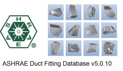 ashrae duct fitting database version 5.0 free download